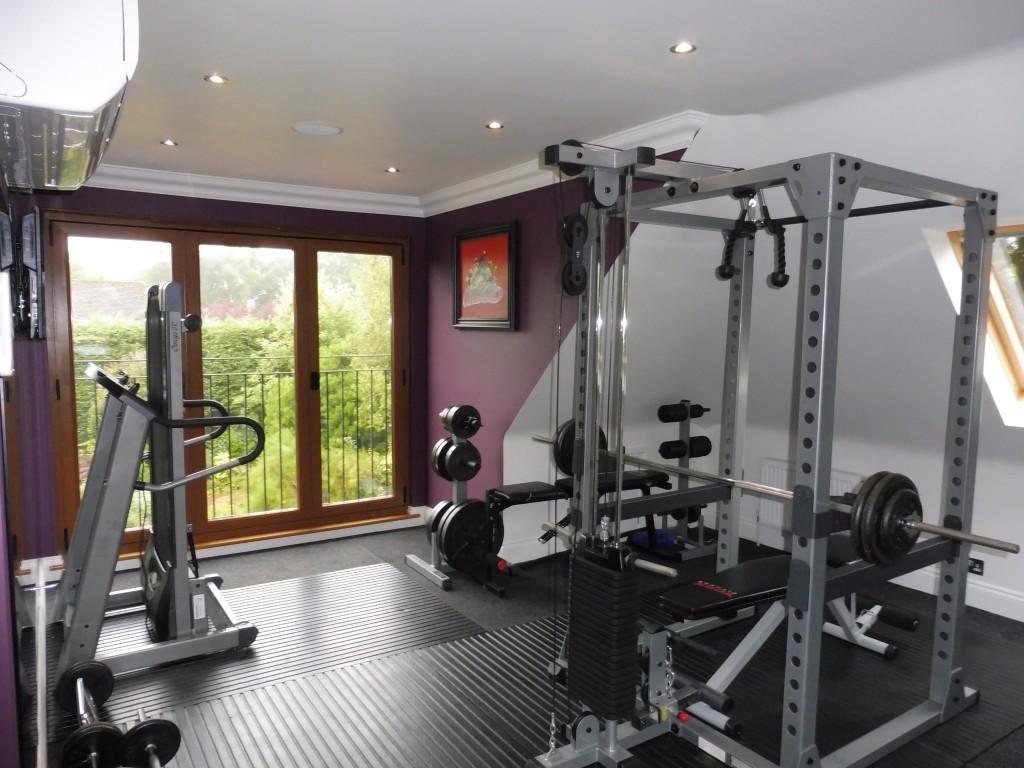 Loftplan Gym